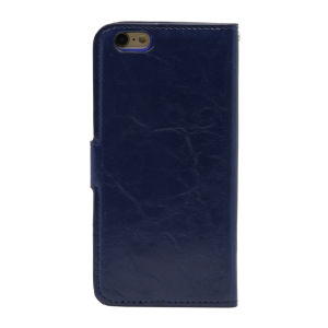 For iPhone 6 PU Leather Magnetic detachable Case Blue