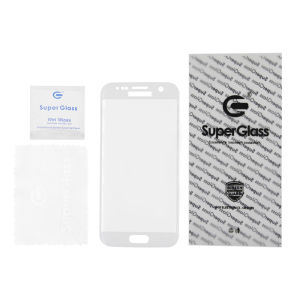 For Samsung Galaxy SM-G930F S7 Tempered Glass Screen Protector White