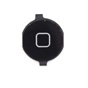 For iPhone 4 Home Button Black