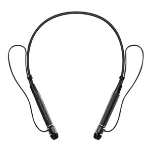 Z6000 Sweatproof Neckband Bluetooth Headset Sport Earphone HIFI Stereo Calls Remind Headphone Black