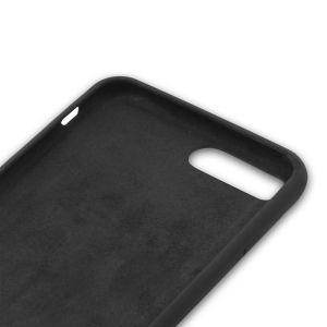 For iPhone7 Plus Silicone Case Black