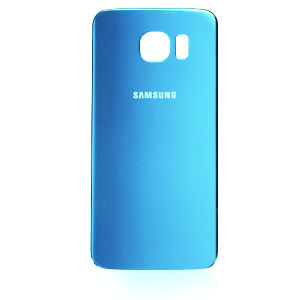 For Samsung galaxy S6 back cover light blue