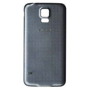 For Samsung Galaxy S5 G900 Battery Cover Black