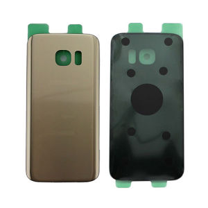 For Samsung SM-G935F S7 Edge Back Cover Gold