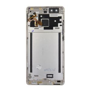 For Huawei P9  Back Cover Gold With Fingerprint  Sensor Flex