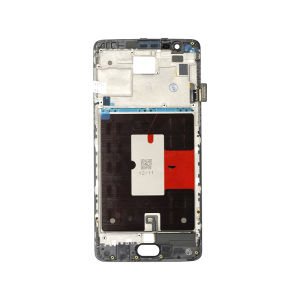 For One Plus 3 LCD with Frame Black