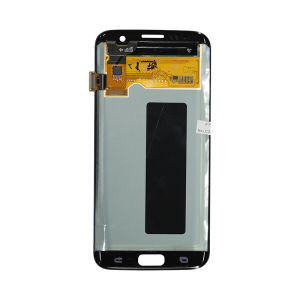 For Samsung SM-G935F S7 Edge LCD Display Original New Gold With Frame
