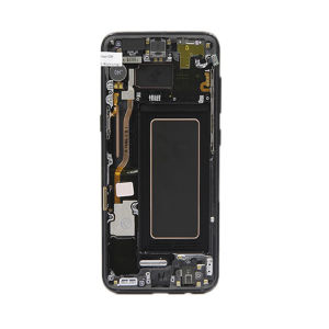 For Samsung SM-G950F S8 LCD Display Black With Frame And Small Parts
