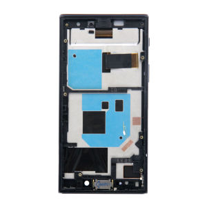 For Sony Xperia X Compact LCD Display Black with frame