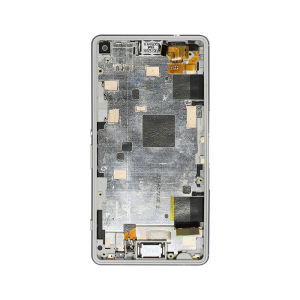 For Sony Xperia Z3 Compact LCD With Frame Original White