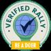 Verified rally badge