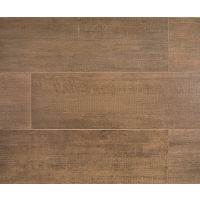"Barrique 8"" x 24"" x 3/8"" Floor and Wall Tile in Brun"