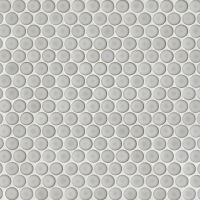 "360 3/4"" x 3/4"" Floor and Wall Mosaic in Dove Grey"