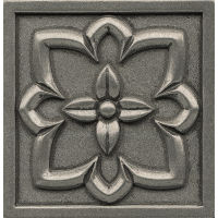 "Ambiance 4"" x 4"" x 7/16"" Trim in Pewter"