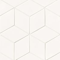 "Costa Allegra 4.5"" x 8"" x 1/2"" Floor and Wall Tile in White Sand"