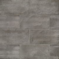 "Chateau 12"" x 24"" x 1/4"" Floor and Wall Tile in Smoke"