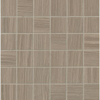 "Matrix 2"" x 2"" Floor and Wall Mosaic in Taupe Blend"