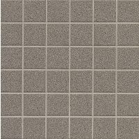 Elements Floor and Wall Mosaic in Dark Grey - Mottled