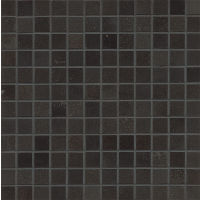 "Absolute Black 1"" x 1"" Wall Mosaic"