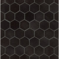 Absolute Black Wall Mosaic