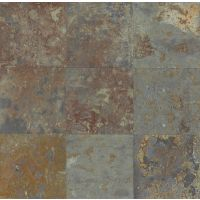 "Brazilian Multicolor 8"" x 8"" x 3/8"" Floor and Wall Tile"