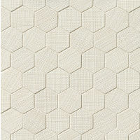 "Dagny 2"" x 2"" Floor and Wall Mosaic in White"