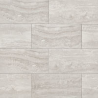 "Phoenix 12"" x 24"" x 3/8"" Floor and Wall Tile in Silver"