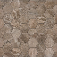 Stone Mountain Floor and Wall Mosaic in Taupe