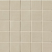 "Strands 2"" x 2"" Floor and Wall Mosaic in Taupe"