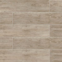 "River Wood 8"" x 36"" x 3/8"" Floor and Wall Tile in Oak"