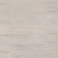 "Titus 8"" x 36"" x 3/8"" Floor and Wall Tile in White"