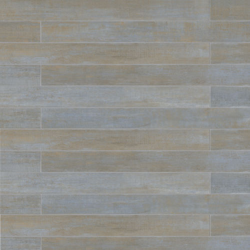 "Barrique 4"" x 40"" Floor & Wall Tile in Bleu"