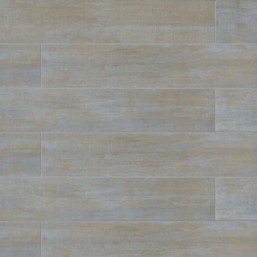 "Barrique 8"" x 40"" Floor & Wall Tile in Bleu"