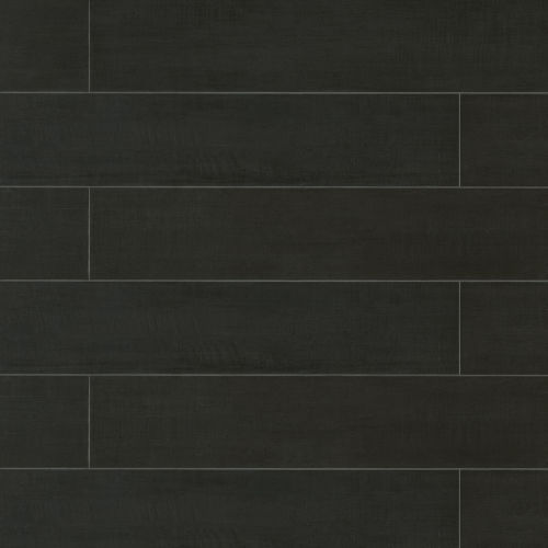 "Barrique 8"" x 40"" Floor & Wall Tile in Noir"