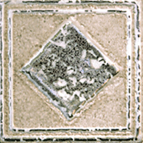"Forge 2"" x 2"" Decorative Tile in Beige"