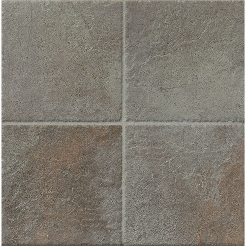"Rok 6.5"" x 6.5"" Floor & Wall Tile in Nero"