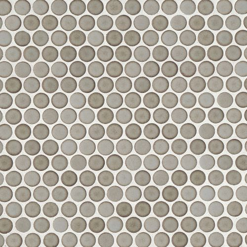 "360 3/4"" x 3/4"" Floor & Wall Mosaic in Pumice"