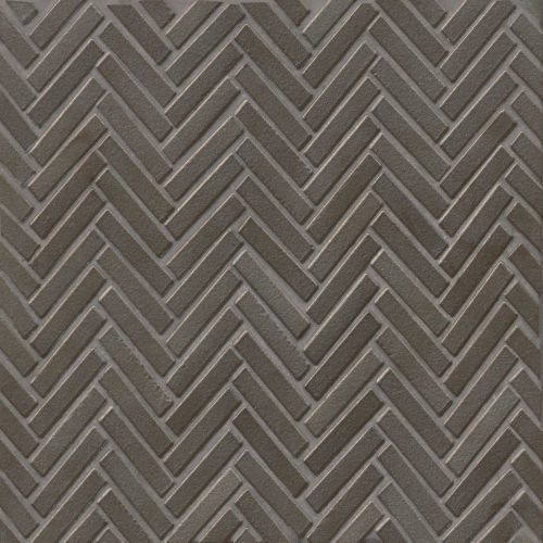 "90 1/2"" x 2"" Floor and Wall Mosaic in Metallic"