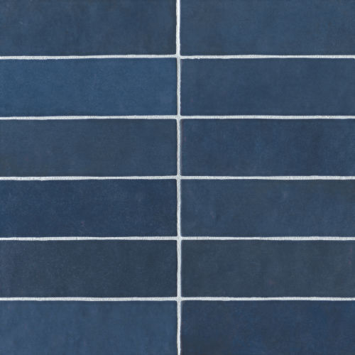 "Cloe 2.5"" x 8"" Wall Tile in Blue"