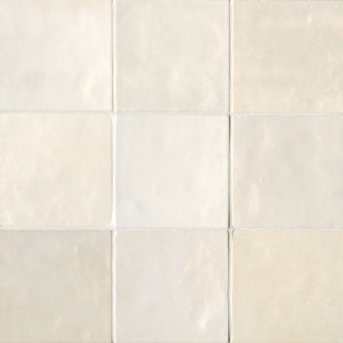"Cloe 5"" x 5"" Wall Tile in Creme"
