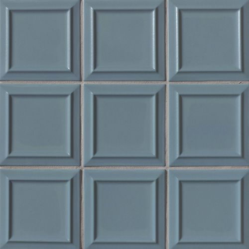 "Costa Allegra 6"" x 6"" Decorative Tile in Adriatic"