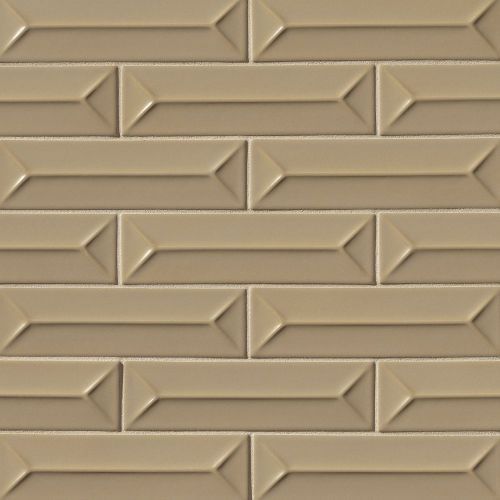 "Costa Allegra 2.5"" x 9"" x 1/4"" Decorative Tile in Driftwood"
