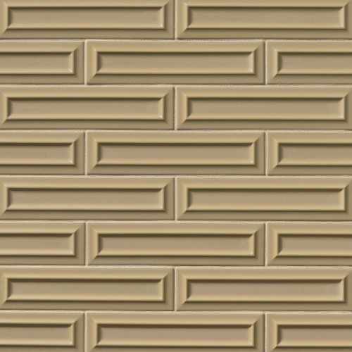 "Costa Allegra 3"" x 12"" Decorative Tile in Driftwood"