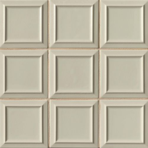 "Costa Allegra 6"" x 6"" Decorative Tile in Silver Strand"