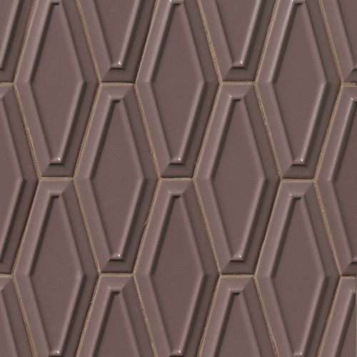 "Costa Allegra 4"" x 9"" Decorative Tile in Timber"