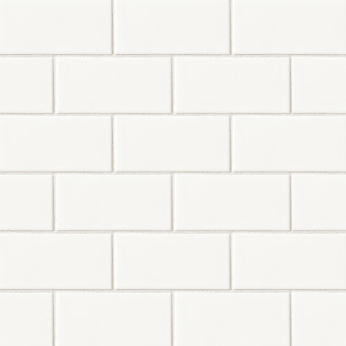 "Costa Allegra 3"" x 6"" Floor & Wall Tile in White Sand"