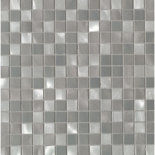 Montane Wall Mosaic in Silver