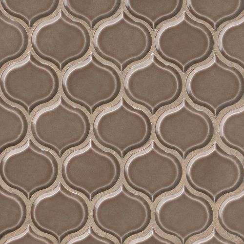 "Provincetown 3-1/16"" x 2-7/8"" Wall Mosaic in Brewster Brown"