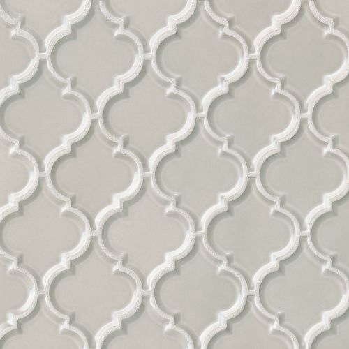 "Provincetown 5-1/8"" x 4-1/16"" Wall Mosaic in Dolphin Grey"