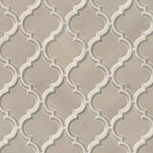 "Provincetown 5-1/8"" x 4-1/16"" Floor and Wall Mosaic in Dune Beige"